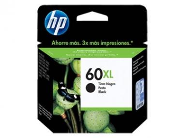 CARTUCHOS HP 60XL NEGRO X UNIDAD