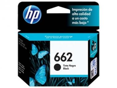 CARTUCHOS HP 662 NEGRO X UNIDAD