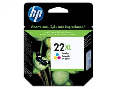 CARTUCHOS HP 22XL COLOR X UNIDAD
