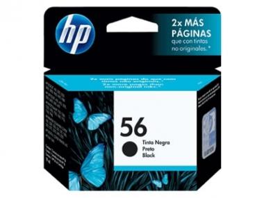 CARTUCHOS HP 56 NEGRO X UNIDAD