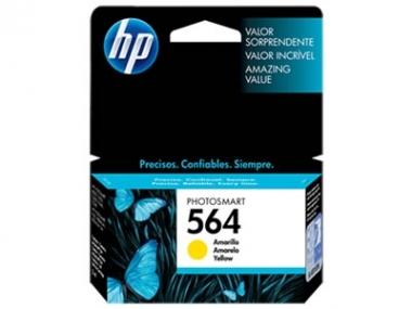 CARTUCHOS HP 564 AMARILLO X UNIDAD