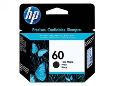 CARTUCHOS HP 60 NEGRO X UNIDAD