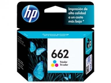 CARTUCHOS HP 662 COLOR X UNIDAD