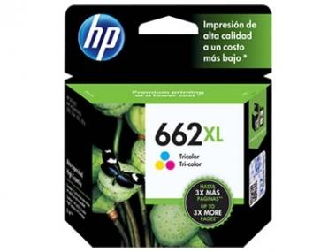 CARTUCHOS HP 662XL COLOR X UNIDAD