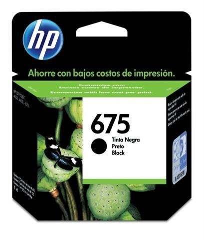 CARTUCHOS HP 675 NEGRO X UNIDAD