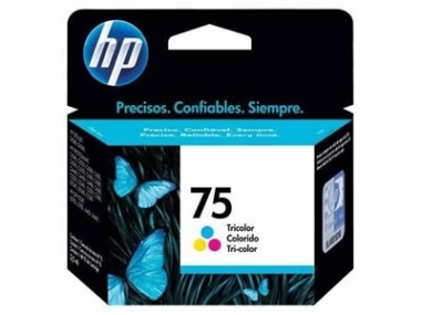CARTUCHOS HP 75 COLOR X UNIDAD