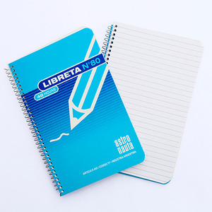 LIBRETA C/ ESPIRAL N°80 40HJS 11X17 X UNIDAD